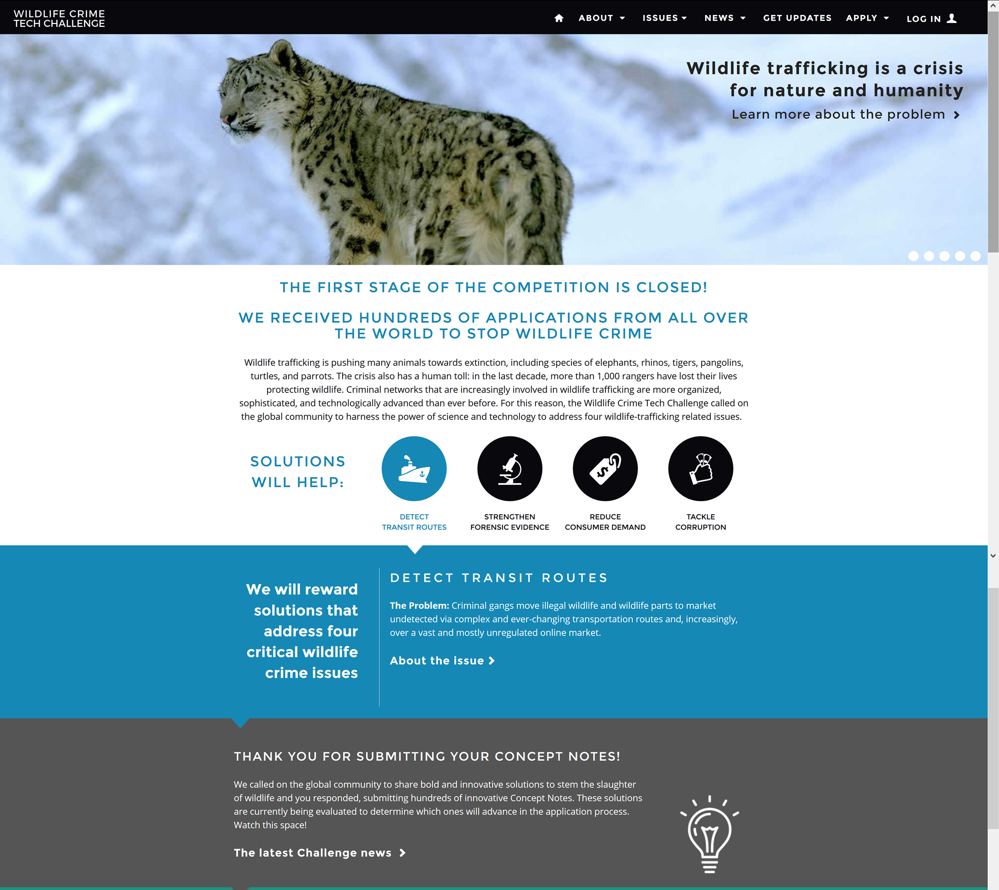 Wildlife Crime Tech Challenge